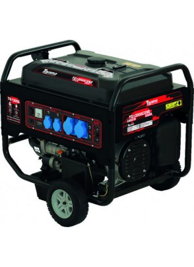 Gerador de Energia a Gasolina Tri 13 KVA 220/380 Partida Elétrica - TG12000CXNE3 - Toyama