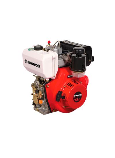 Motor a Diesel 13 HP Partida Manual BD 13 - Branco