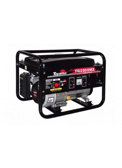 Gerador de Energia a Gasolina Mono 2,5 KVA 220V Partida Manual - TG2500MX2 - Toyama