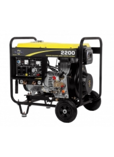 Gerador de Energia a Diesel Mono 2.2 KVA 110/220v Partida Elétrica - Matsuyama