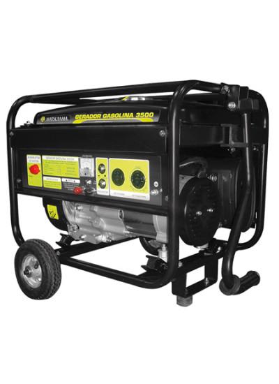 Gerador de Energia a Gasolina Mono 3.8 KVA 110/220v Partida Elétrica - Matsuyama