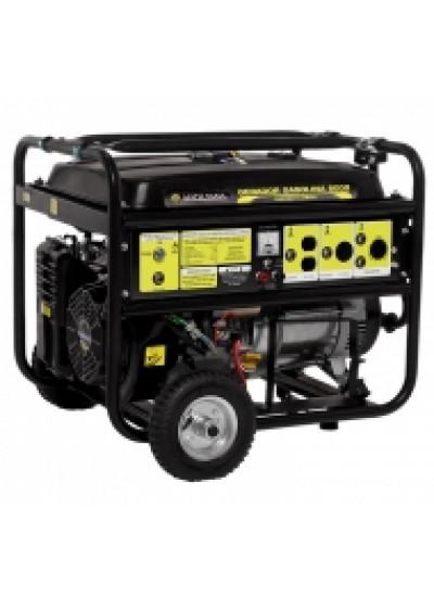 Gerador de Energia a Gasolina Mono 8 KVA 110/220v Partida Elétrica - Matsuyama