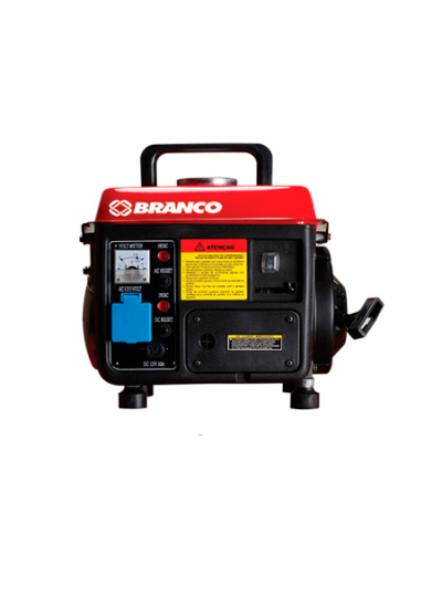 Gerador de Energia a Gasolina Mono 0,95 Kva 220v Partida Manual -  B2T-950 - Branco