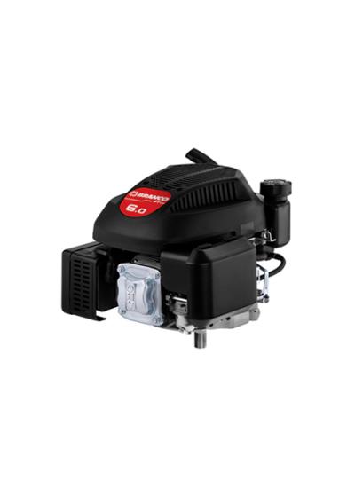 Motor a Gasolina 4 Tempos (Eixo Longo) 6 HP Partida Manual B4T 6.0V - Branco
