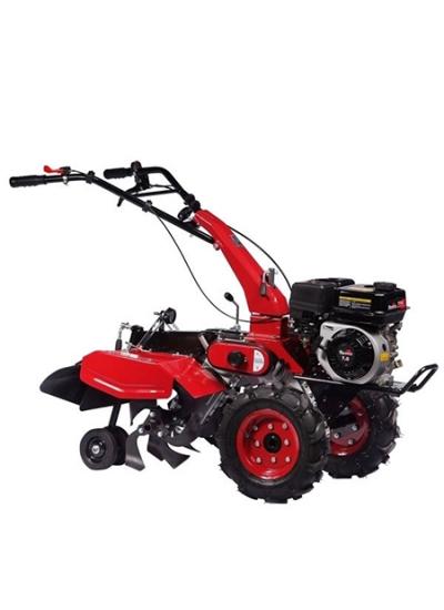 Motocultivador à Gasolina 2 x 1 com 65cm Largura Motor 7,0hp com Rodas Dupla Transmissão - Avicultura - TT65A - Toyama
