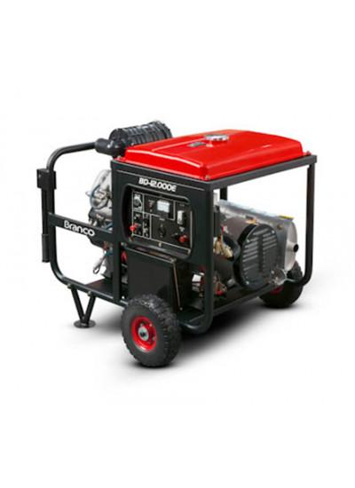 Gerador de Energia a Diesel Mono 12 KVA 220V/60HZ Partida Elétrica - BD 12000E G2 - Branco