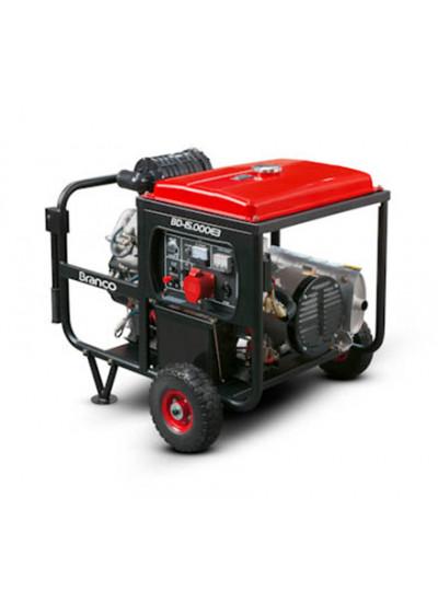 Gerador de Energia a Diesel Tri 14 KVA 220V/60HZ Partida Elétrica - BD 15000E3 G2 - Branco