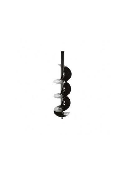 Broca para perfurador de solo 10 cm x 80 cm - Branco