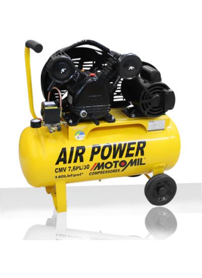 Compressor de Ar 30 Litros Mono 127/220v-CMV- 7,6PL/30 sem motor - Motomil - Cod.: 21166.3
