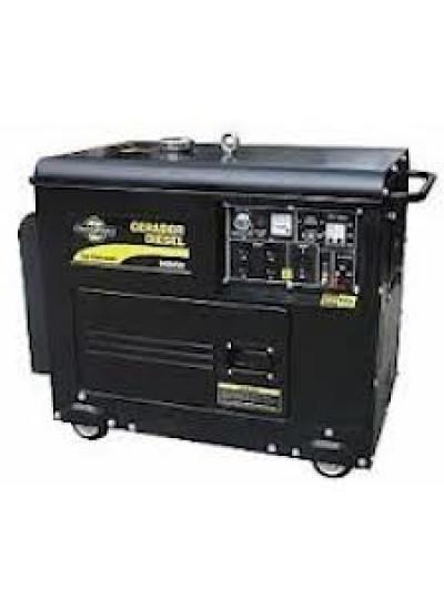 Gerador de Energia a Diesel Mono 5,8 KVA 110/220v Partida Elétrica - Matsuyama