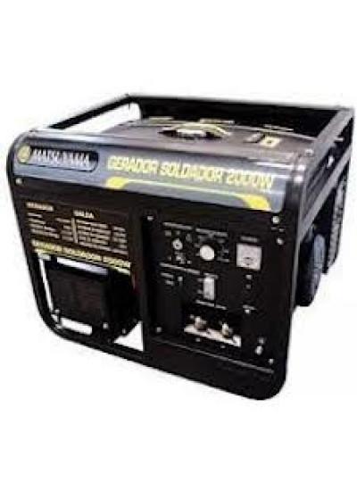 Gerador soldador 2,0 Kva à Gasolina Mono 110V - Cod.: 374733 - Matsuyama