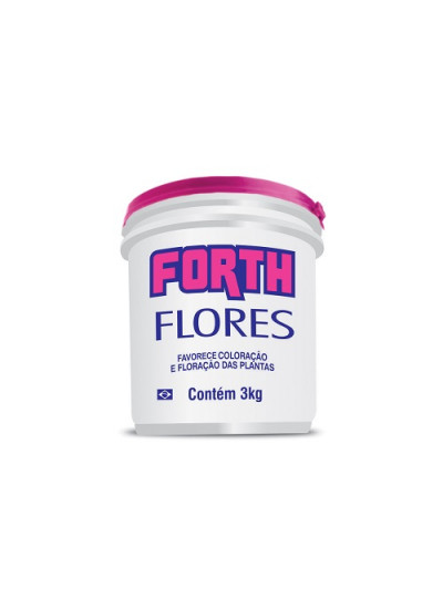 Adubo Forth Flores - 03 kg
