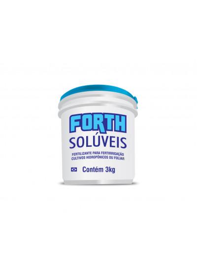 Adubo Forth Solúveis Produtivo - 3 kg