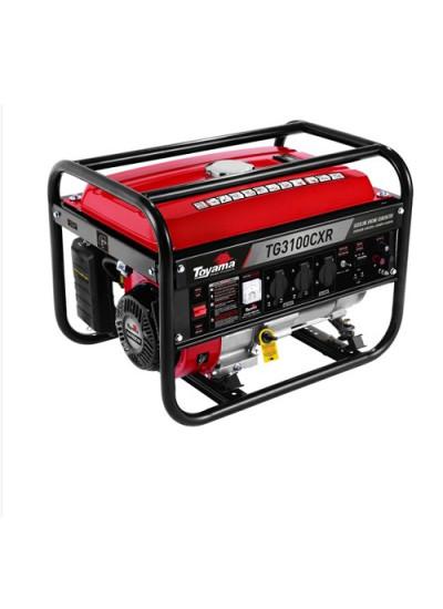 Gerador de Energia a Gasolina Mono 3,1 KVA 110/220v BIVOLT Partida Manual - TG3100CXR - Toyama