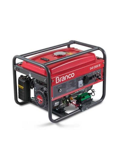 Gerador de Energia a Gasolina Mono 2 KVA 110/220v Partida Manual B4T-2500 - Branco
