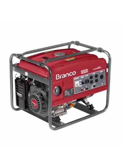 Gerador de Energia a Gasolina Mono 4 KVA 110/220v Partida Manual - B4T5000 - Branco