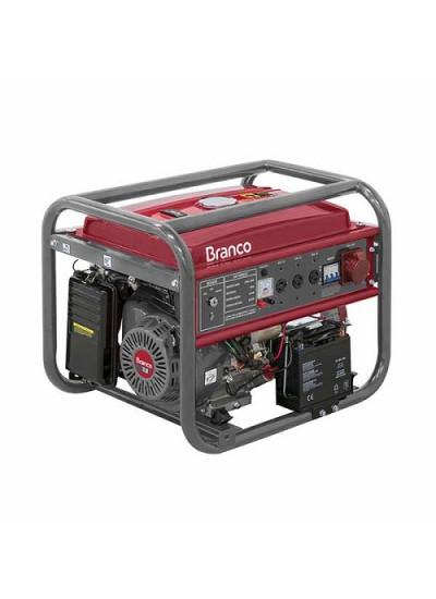 Gerador de Energia a Gasolina Tri 8 KVA 220/380v Partida Elétrica - B4T8000E3 - Branco