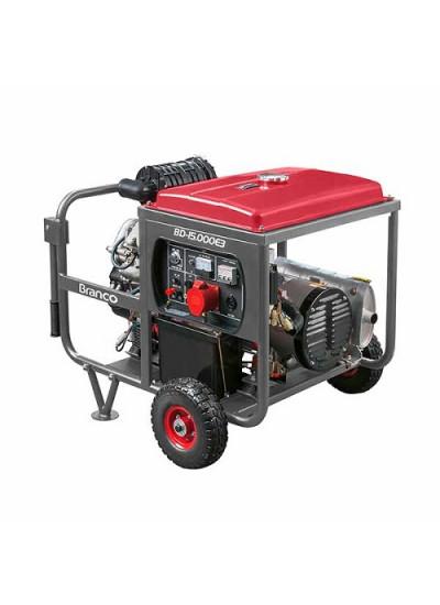 Gerador de Energia a Diesel Tri 14 kva 380V/60HZ Partida Elétrica - BD-15000 E3 G2 - Branco