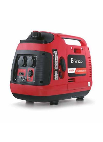 Gerador de Energia a Gasolina Mono 2 KVA 220v Partida Manual INVERTER - B4T2000I - Branco