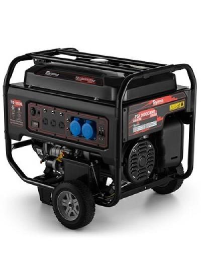 Gerador de Energia a Gasolina Mono 10,5 KVA 120/240v Partida Elétrica - TG12000CXNE - Toyama