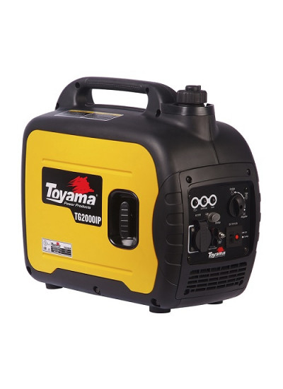 Gerador de Energia a Gasolina Mono 1,8 KVA 220v Partida Manual INVERTER - TG2000IP - Toyama
