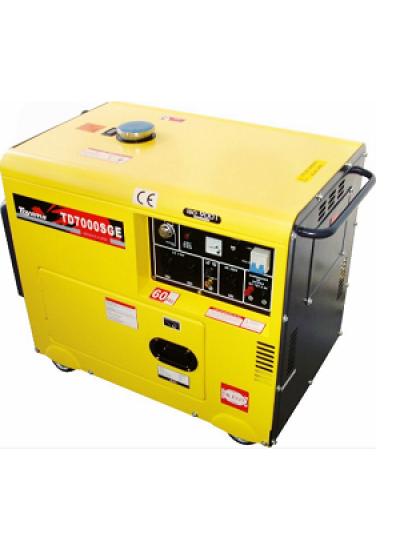 Gerador de Energia a Diesel Mono 6 KVA 110/220v Partida Elétrica - TDG7000SE - Toyama