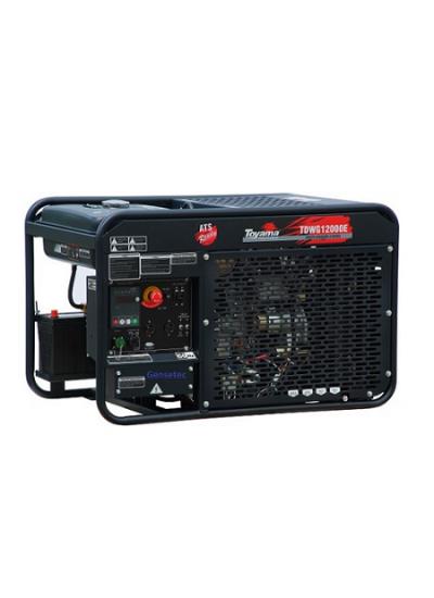 Gerador de Energia a Diesel Mono 10 KVA 220v Partida Elétrica - TDWG12000E - Toyama