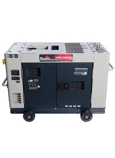 Gerador de Energia a Diesel Mono 10 KVA 110/220v Partida Elétrica - TDWG12000SGE- Toyama