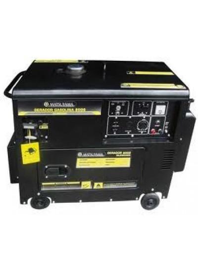 Gerador de Energia a Gasolina Tri 8 KVA 220/380v Partida Elétrica - Matsuyama