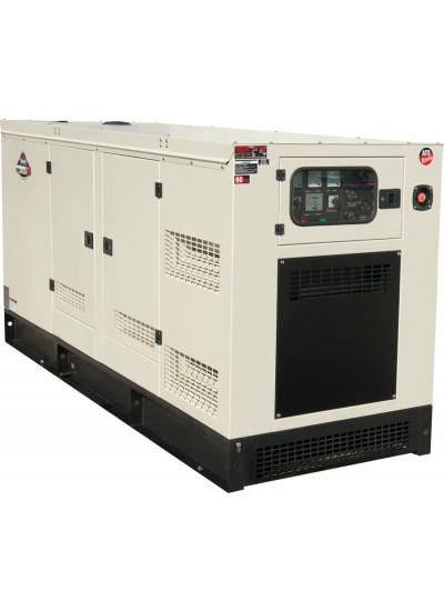 Gerador de Energia a Diesel 125 KVA Trifásico 380V Silencioso -TDMG125SE3 - Toyama
