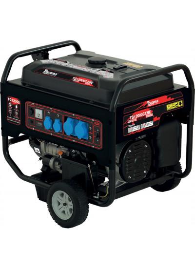 Gerador de Energia a Gasolina Tri 13 KVA 127/220V Partida Elétrica - TG12000CXNE3D - Toyama