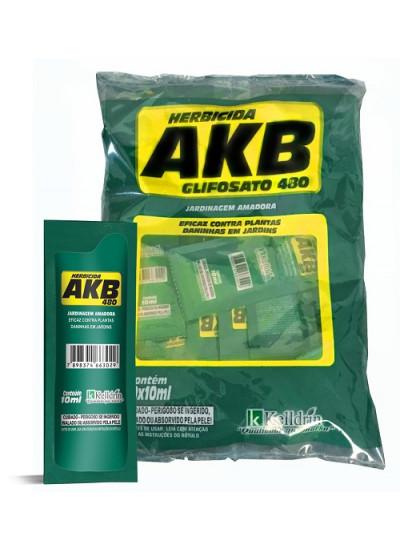 Herbicida AKB 480 - NÃO SELETIVO / MATA TUDO - Glifosato 48% - 10ml