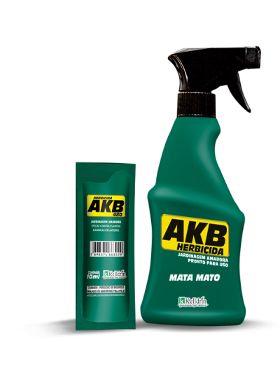 Herbicida AKB 480 - Glifosato 48% Pronto Uso - Spray 500ml