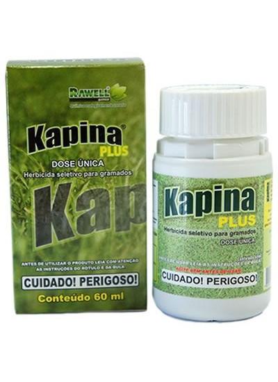 Herbicida Kapina PLUS - SELETIVO para GRAMA ESMERALDA - 60 ml