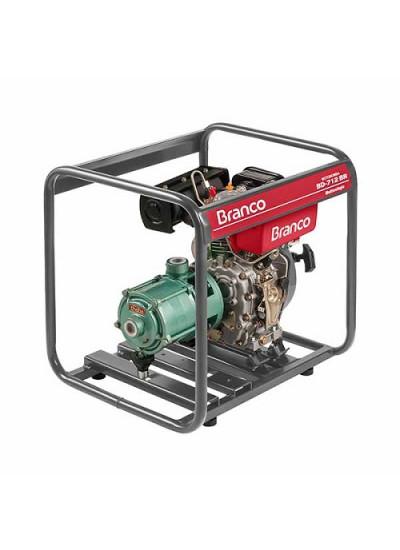 """Motobomba a Diesel Multiestágio Partida Manual 1"""" x 1"""" - BD 712 BR - Branco"""