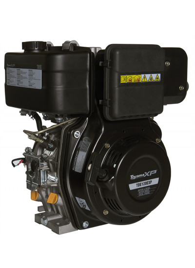 "Motor a Diesel 12 HP 4 Tempos Eixo 1"" - TDE120XP - toyama"