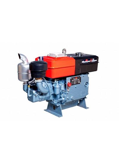 Motor a Diesel Refrigerado a Água com Radiador e Partida Manual de 16,5 HP - TDWE18R - Toyama