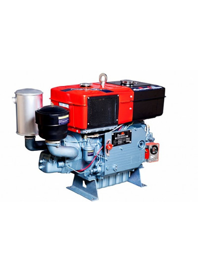 Motor Diesel Refrigerado a Água 1194Cc - 24,0Hp/2.200Rpm - Radiador - TDW22DR - Toyama