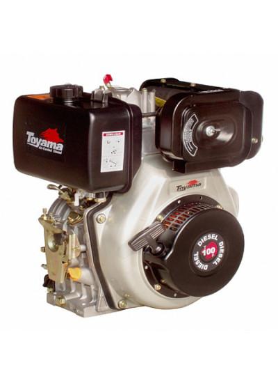 Motor a Diesel 4 Tempos, Partida Manual - 10 Hp - TD100F - Toyama