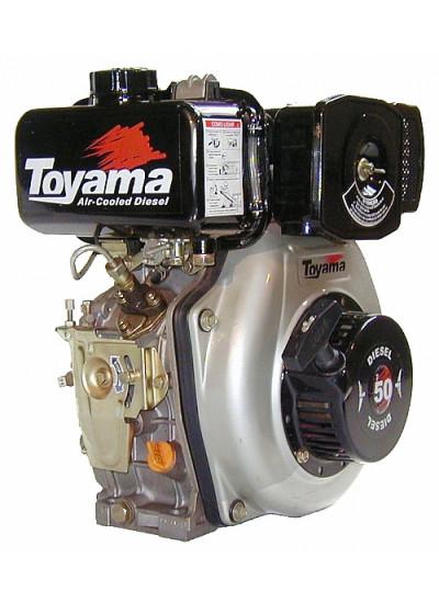 "Motor Diesel 4T 4.7Hp - Eixo 3/4"" com Redução 2:1 - Multiuso - TD50FS - Toyama"