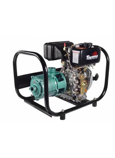 Motobomba a Diesel Multiestágio Partida Manual 1 1/4 x 3/4 - TDM34N5 - Toyama
