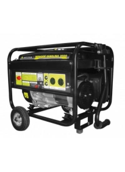 Gerador de Energia à Gasolina Mono 3,8 KVA 110/220v Partida Manual - Matsuyama
