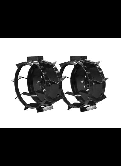 """Conjunto Rodas de ferro para Motocultivador sem eixo para pneus Aro 8"""""""