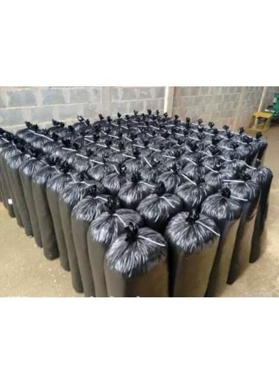 Saco para silagem Preto 200 micras - 51 cm x 110 cm - 50 unidades