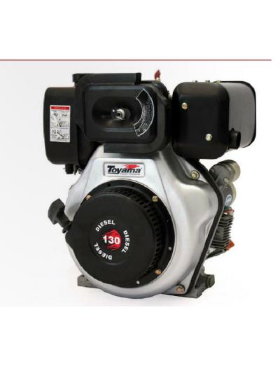 "Motor Diesel 4T 13.0Hp - Eixo 1""- Multiuso - Partida Elétrica - TDE130E - Toyama"