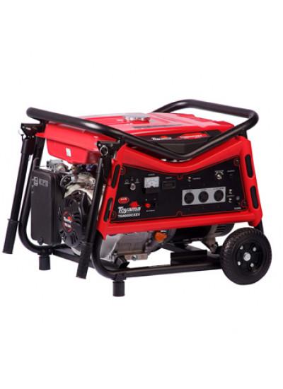 Gerador de Energia a Gasolina Mono 7 KVA 110/220v Partida Elétrica - TG8000CXEV - Toyama