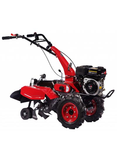 Motocultivador à Gasolina 2 x 1 Com 65cm Largura Motor 7,0hp com Rodas Dupla Transmissão - TT65 -Toyama