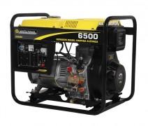 Gerador de Energia a Diesel Mono 5,8 KVA 110/220V Partida Manual - Matsuyama