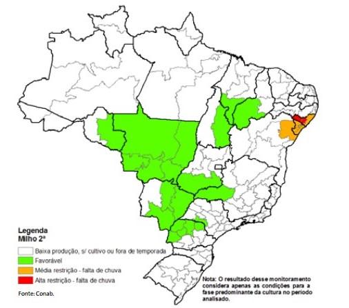 Mapa Milho Safrinha